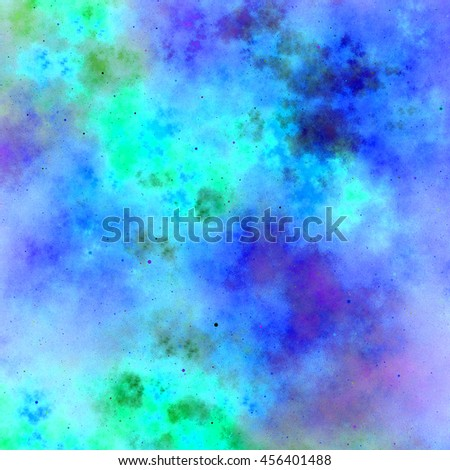 nebula space abstract background - stock photo