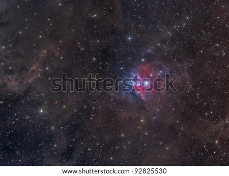 Nebulosity in Orion -- Vdb 38