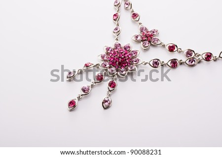necklace - stock photo