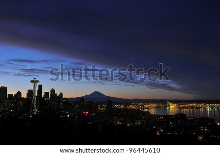 Needle Sunrise 10 - stock photo