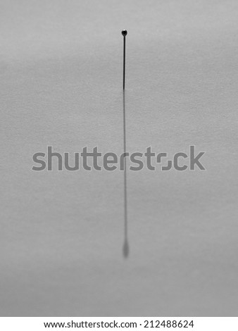 needles and pins - stock photo