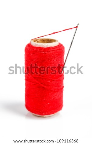 Needlework - stock photo