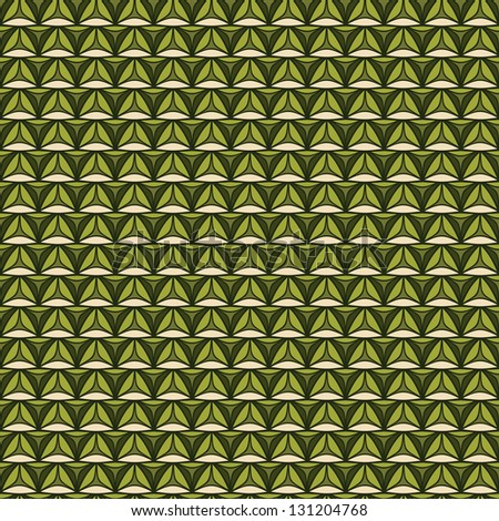 Needlework background, Seamless knitted pattern, Eco style - stock photo