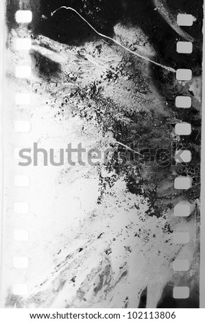 negative film strip grunge