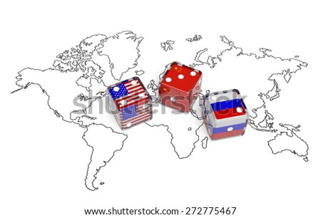 China Usa Stock Images RoyaltyFree Images Vectors Shutterstock - China usa map
