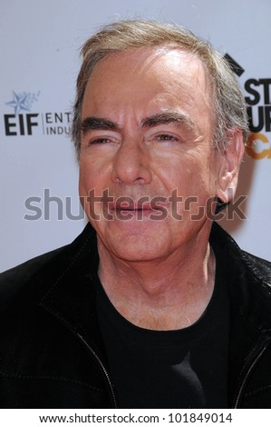 Neil Diamond at the 2010 Stand Up To Cancer, Sony Studios, Culver City, CA. 09-10-10