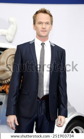"Neil Patrick Harris at the Los Angeles premiere of ""Smurfs"" held at the Regency Village Theater in Westwood on July 28, 2013 in Los Angeles, California."