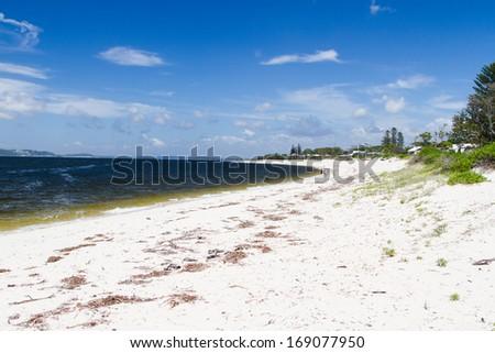 Nelson Bay, Tea Garden, New South Wales, Australia - stock photo