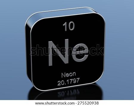 Neon - stock photo