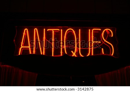 Neon Sign series  antiques