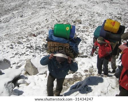 Nepal - Everest - stock photo