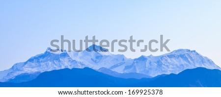 Nepal Himalaya range, - stock photo
