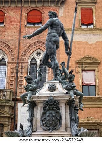 Neptuno's statue - stock photo