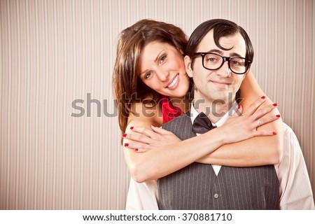 single brunette women