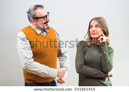 ignore him to get his attention