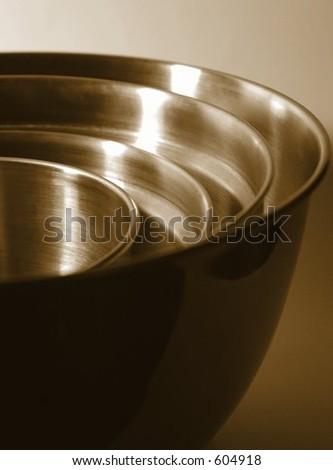 Nested Bowls II - stock photo