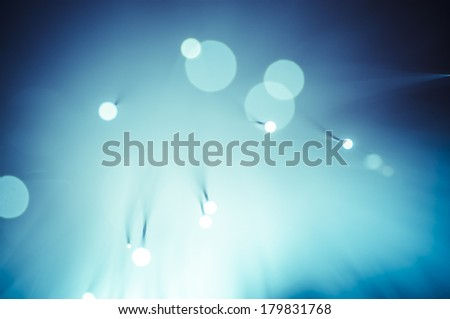 Net, Fiber optic cables, fibre connection, telecomunications concept. - stock photo