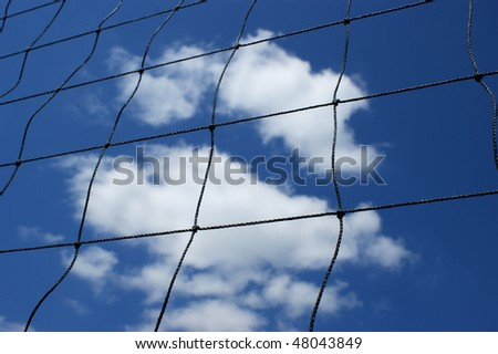 Net of volleyball