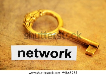 Network and key concept