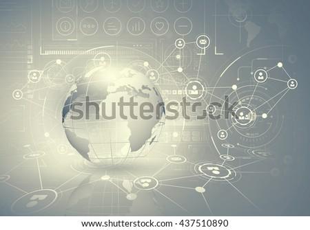 Network community concept - stock photo