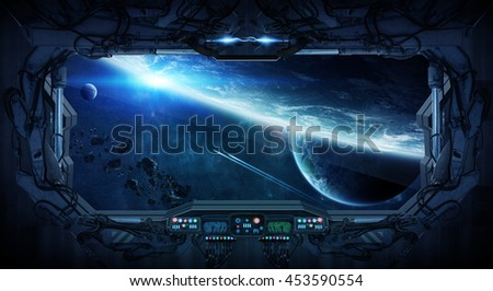 Network connections between different places of the world '3D rendering' 'elements of this image furnished by NASA' - stock photo