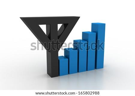 Network Symbol - stock photo