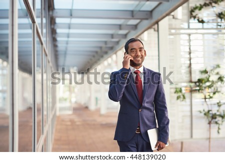 Networking in modern business - stock photo