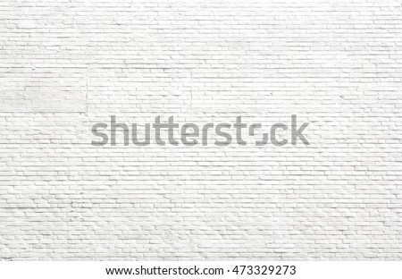 Neutral Flat White Gray Painted Brick Stock Photo Royalty Free