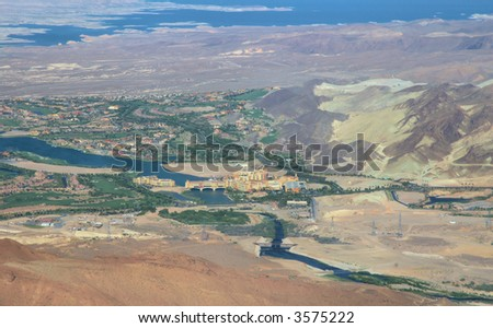 Nevada from up high 1 - stock photo