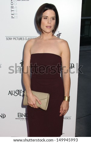 "Neve Campbell at the ""Austenland"" Los Angeles Premiere, Arclight, Hollywood, CA 08-08-13"