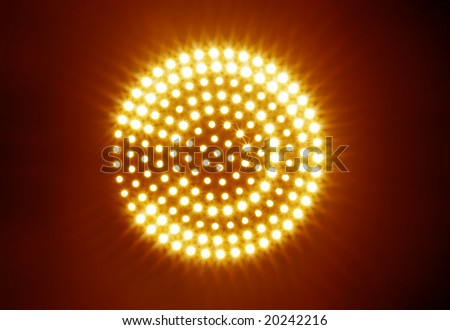 new abstract light rays background - stock photo