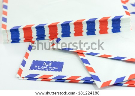 New air mail envelope