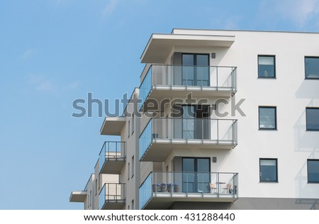 new apartment - stock photo