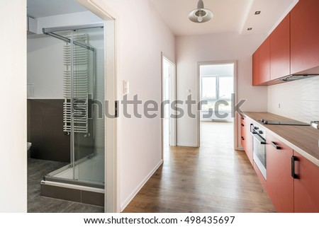 Empty Apartments Inside studio apartment stock images, royalty-free images & vectors