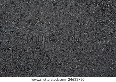 New asphalt texture - stock photo