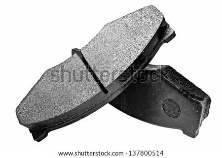 New auto brake - stock photo