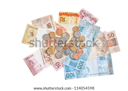 New banknote Brazil - stock photo