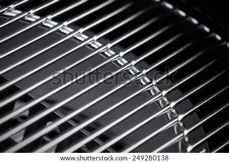 new barbecue grill  - stock photo