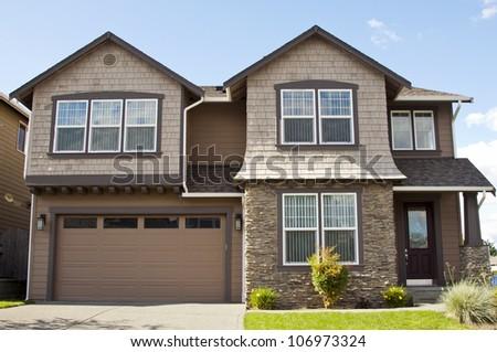 New family house stock photo 208264867 shutterstock for American family homes