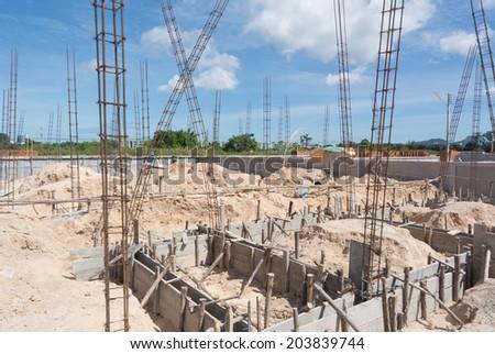 New Build House - stock photo