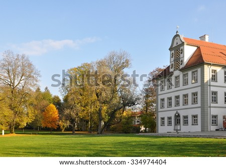 New castle Kisslegg,Germany - stock photo