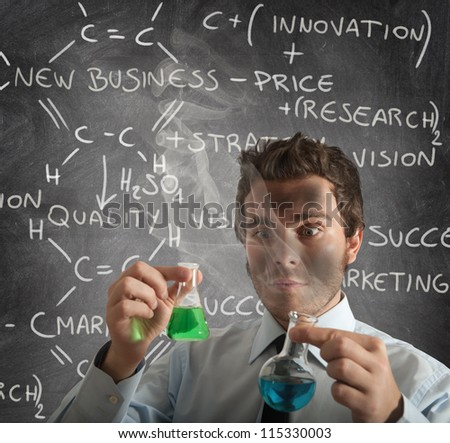 New chemical formula for new business