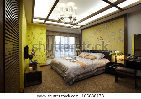 new Chinese style home - stock photo
