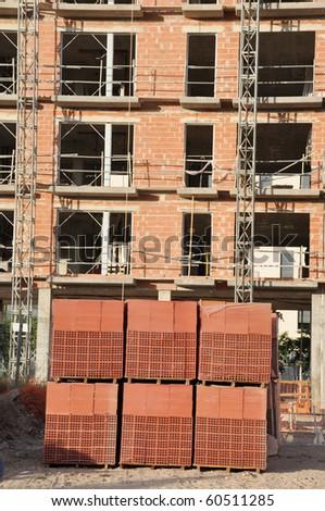 New Construction Site Equipment - stock photo