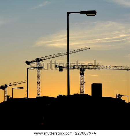 New construction the City Castle in the city center of Berlin - stock photo