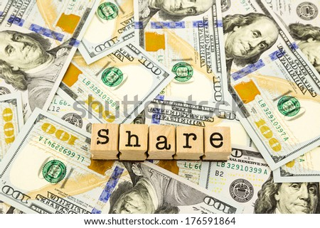 new edition dollar banknotes, money and currency for share and donation concept - stock photo