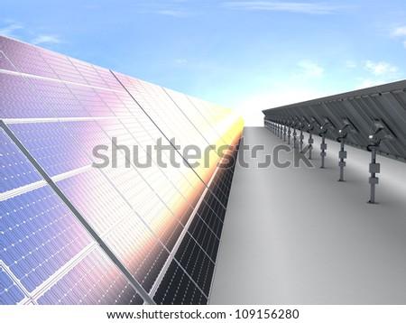 new energy - stock photo