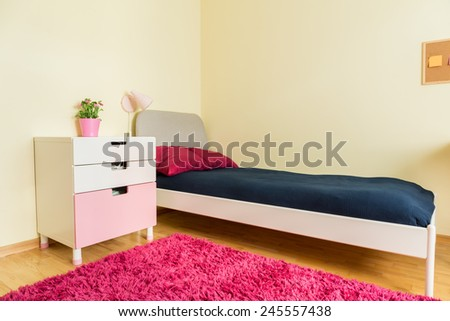 New estate design of colorful children bedroom - stock photo