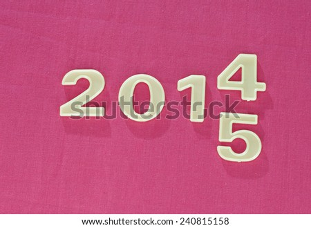 New 2015 fuchsia background
