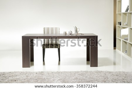 NEW FURNITURE LINE . MODERN DESIGN . STRAIGHT LINES . MATERIALS : WOOD ,  FABRIC .